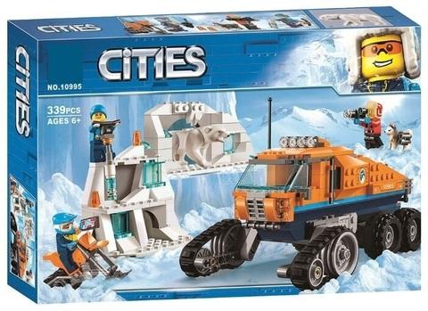 Конструктор Cities 10995 Грузовик ледовой разведки