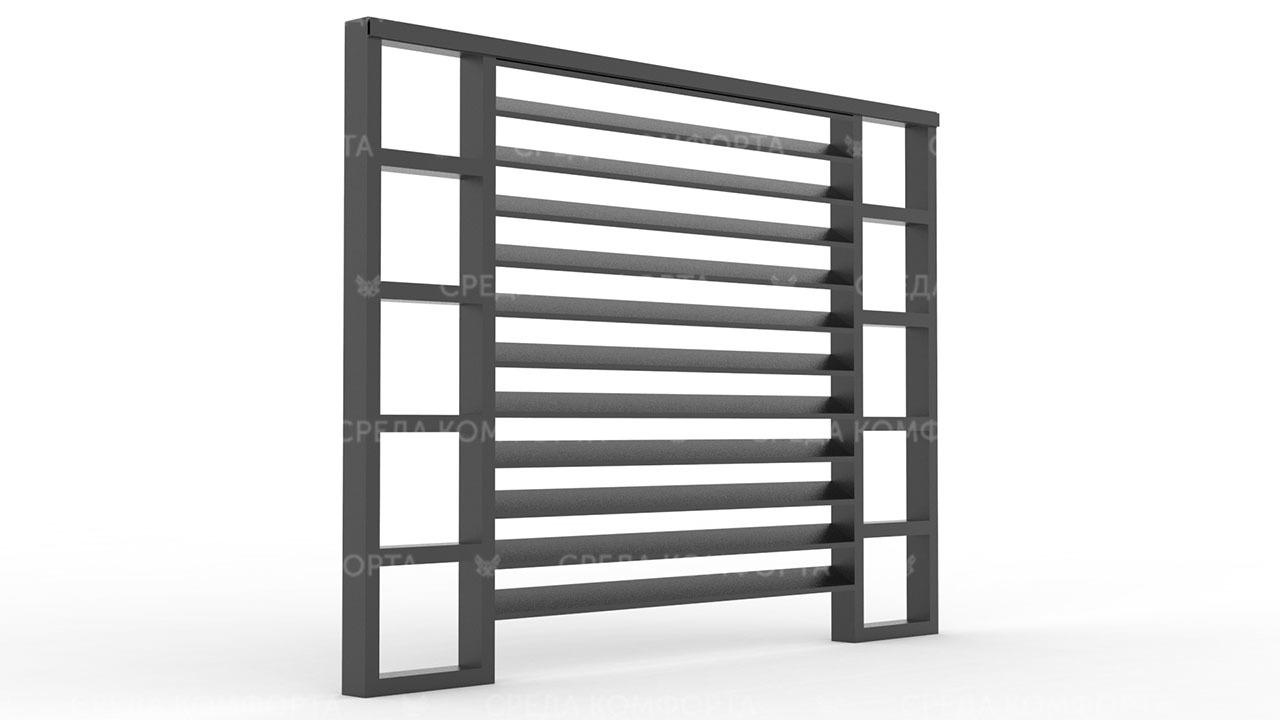 Забор жалюзи ZBR0132