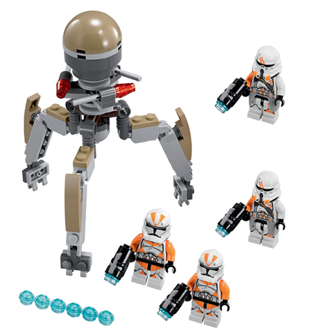 LEGO Star Wars: Воины Кашиик 75036 — Utapau Troopers — Лего Звездные войны Стар Ворз