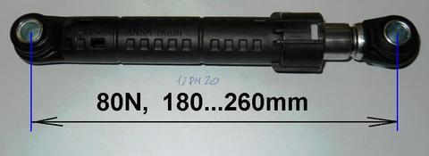 Амортизатор для стиральной машины Samsung/Indesit/Ariston 80N - DC66-00421A/030340, см. DC66-00421A