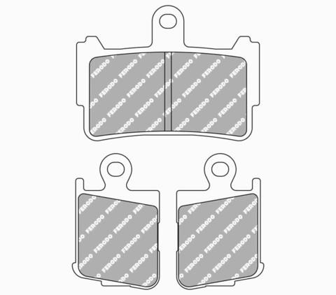 Передние тормозные колодки FDB2259ST для Honda VFR 1200
