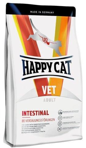 купить Happy Cat VET Diet Intestinal сухой корм для взрослых кошек при чувствительном пищеварении 4 кг