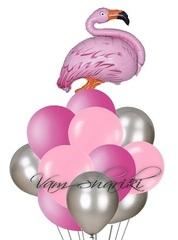 "Букет ""Розовый фламинго"" АРТ2"