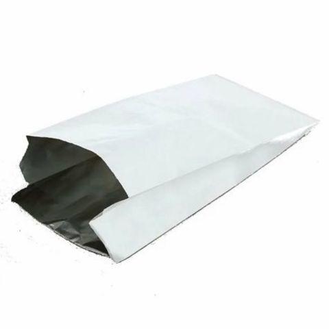 Пакет бумажный с фольгой 145+90х310 мм без печати