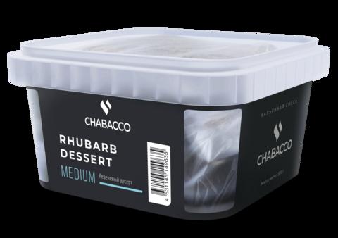 Chabacco Rhubarb desert (Ревеневый десерт) 200г