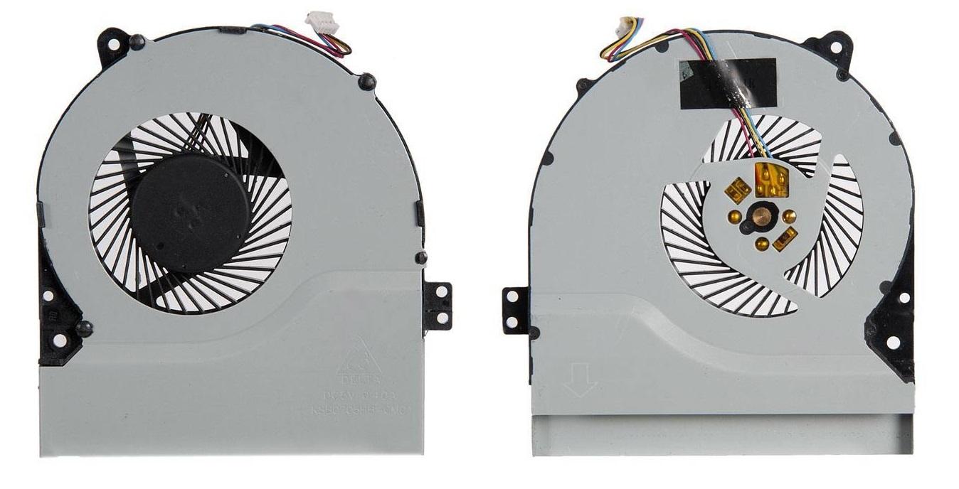 Вентилятор (кулер) для ноутбука Asus X550, X550V, X550C, X550VC, X450, X450CA