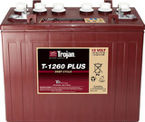 Тяговый аккумулятор Trojan T1260+ ( 12V 140Ah / 12В 140Ач ) - фотография