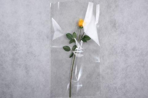 Рукав для цветов 40/80 прозрачный (упаковка 50 шт.)