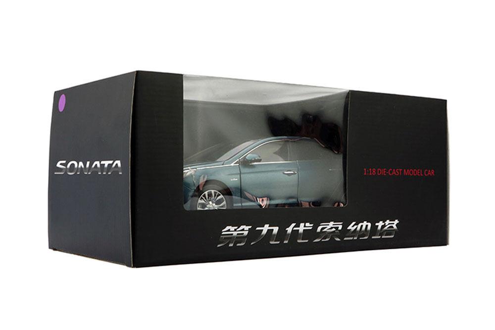 Коллекционная модель HYUNDAI SONATA 7 (LF) 2016 LIGHT BLUE