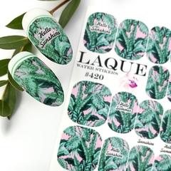 Слайдер дизайн Laque Stikers