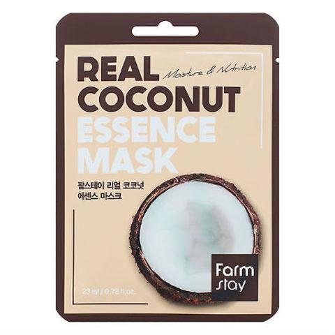 FarmStay Тканевая маска с экстрактом кокоса Real Coconut Essence Mask 1 шт.