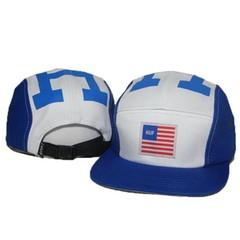Кепка HUF (Бейсболка Хаф) сине-белая