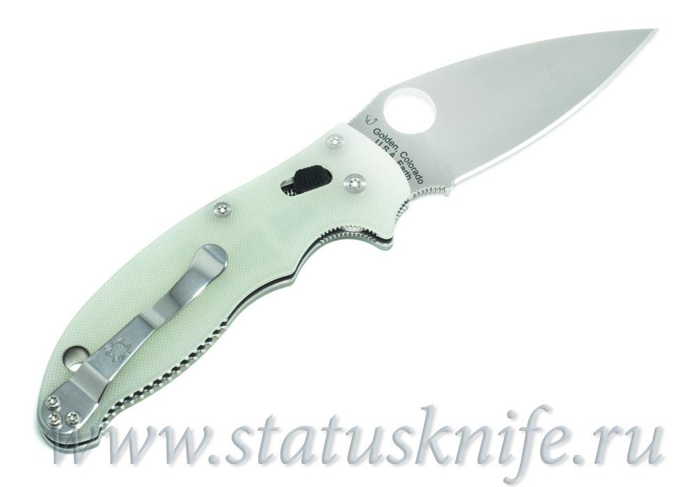 Нож Spyderco Manix 2 M4 G-10 C101GM4P2 Exclusive - фотография