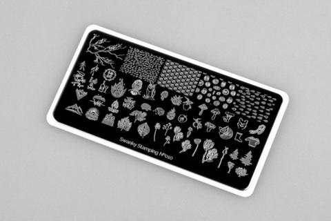 Пластина Swanky Stamping №010