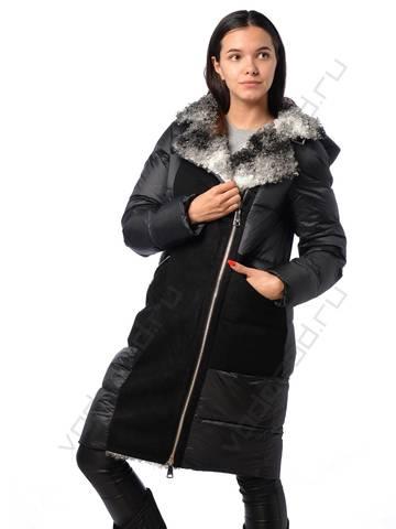 Куртка зимняя EVACANA 21705 (черная)