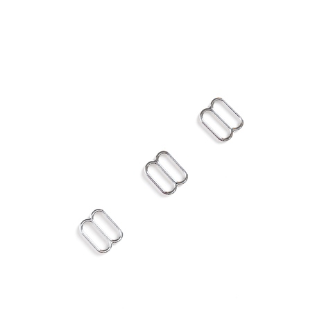 Регулятор для бретели серебро 10 мм