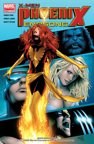 X-Men Phoenix Endsong #2