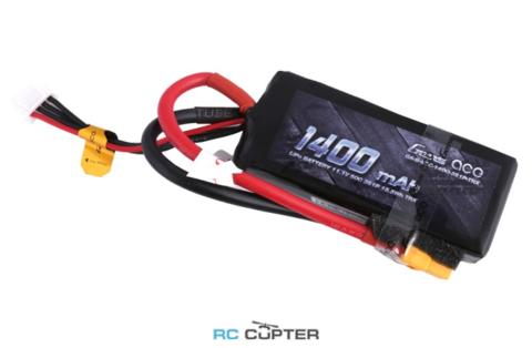 Аккумуляторная батарея Gens Ace 1400mAh 11.1V 50C 3S1P Lipo Battery Pack XT60