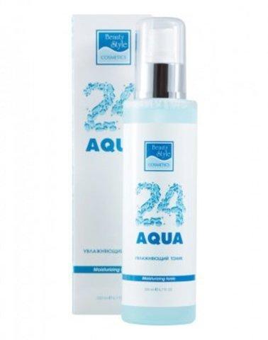 Увлажняющий тоник «Аква 24»  Beauty Style, 200 мл.