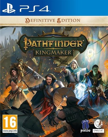 Pathfinder: Kingmaker Definitive Edition Стандартное издание (PS4, русские субтитры)