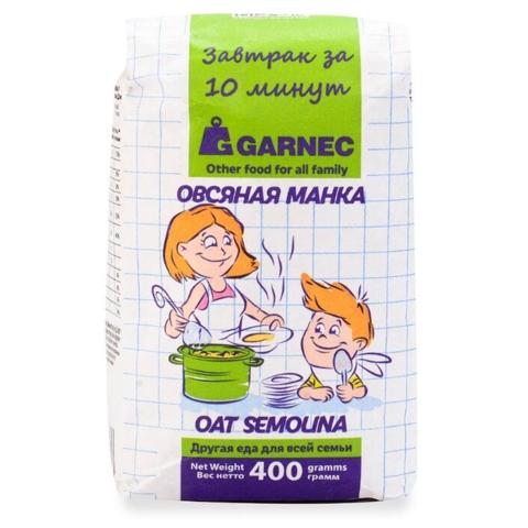 Манка овсяная Гарнец, 400г