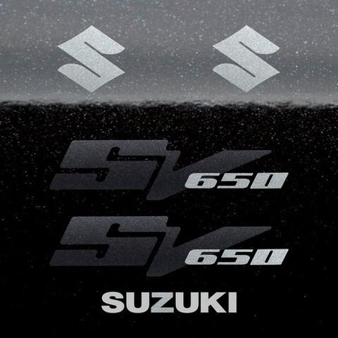 Набор виниловых наклеек на мотоцикл SUZUKI SV 650 2008