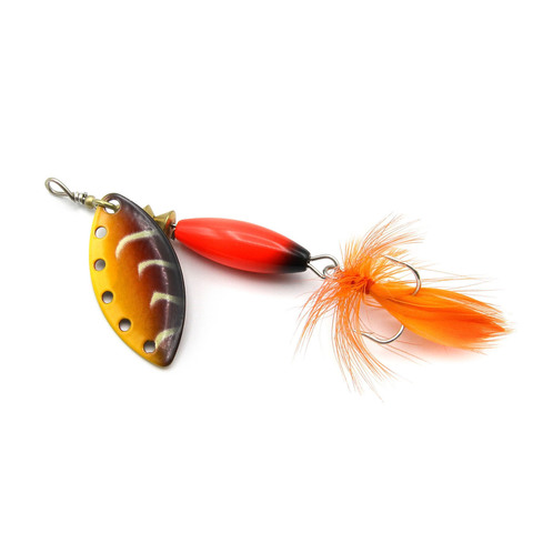 Блесна Extreme Fishing Complete Obsession  8g 14-FluoRed/DRed