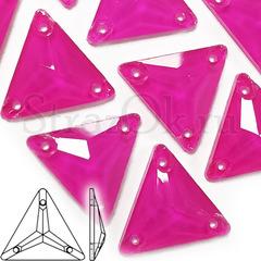 Купить оптом в интернет-магазине неоновые стразы Neon Rose, Triangle