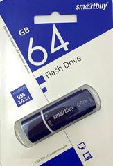 64GB USB-флеш накопитель USB 3.0 SMARTBUY Crown синий