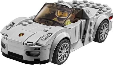 LEGO Speed Champions: Porsche 918 Spyder 75910 — Porsche 918 Spyder — Лего Спид чампионс Чемпионы скорости