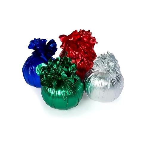 Грузик из шарика с водой в фольге