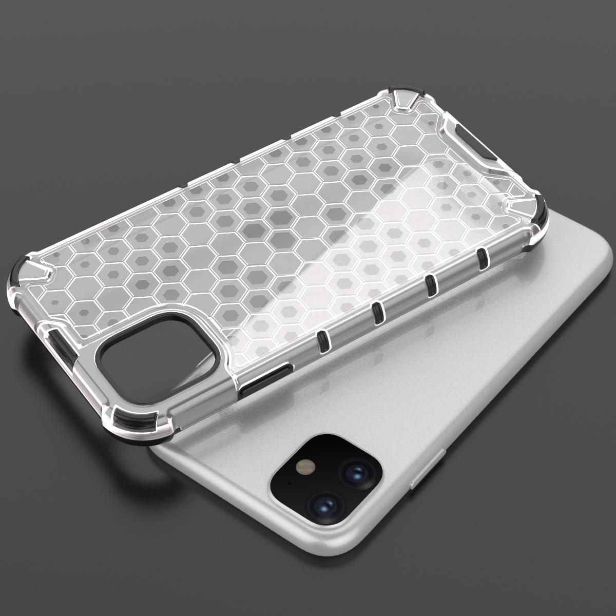 Прозрачный чехол на iPhone 11 от Caseport, серия Honey