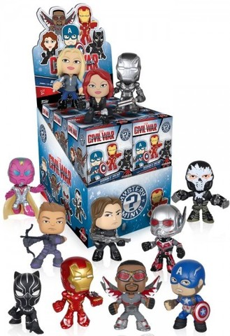 Фигурка Funko Mystery Minis Blind Box: Marvel Captain America Civil War (1 шт. в ассортименте)