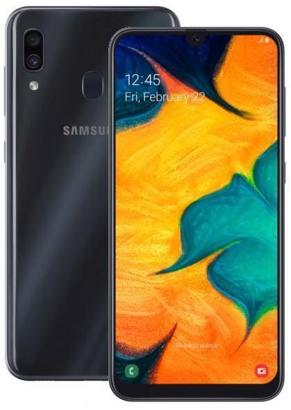 Samsung Galaxy A30 4/64GB Black (A305F-DS) черный.jpg
