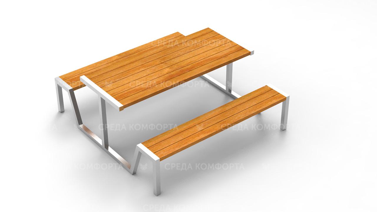 Скамейка со столом SCAM0230