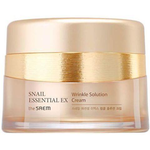 CM Snail Essential Крем для лица антивозрасной Snail Essential Ex Wrinkle Solution Cream 60 мл.