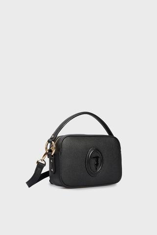 Женская черная сумка LISBONA CAMERA Trussardi