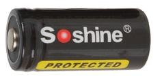 Аккумулятор Soshine 16340/RCR123A 3.7V 700mAh с защитой
