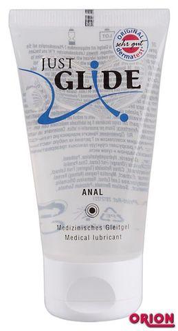Анальная смазка на водной основе Just Glide Anal - 50 мл.