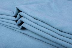 Штора готовая однотонная из портьерной ткани | цвет: стальной синий