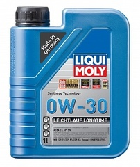 НС-синтетическое моторное масло Leichtlauf Longtime 0W-30 1л Артикул: 39038