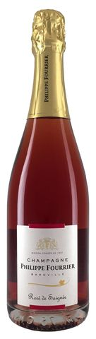 Philippe Fourrier Rose de Saignee Champagne