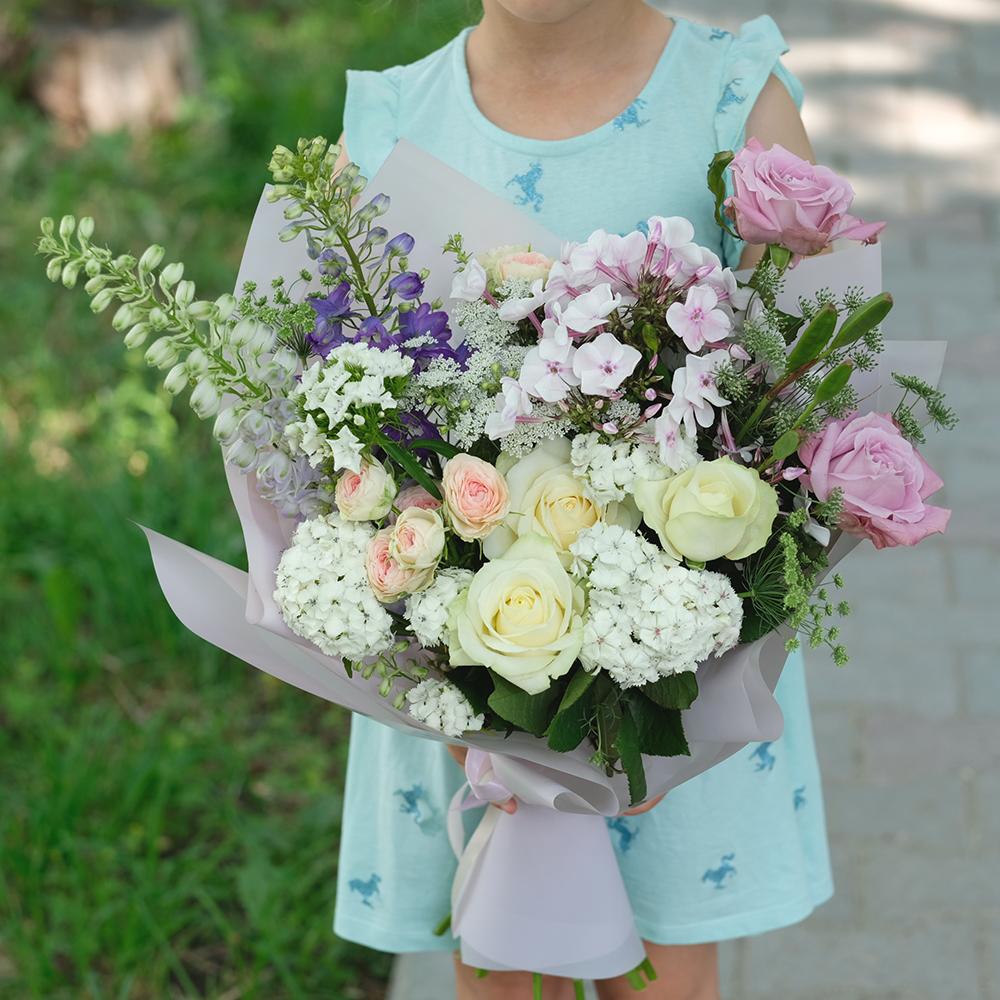 Купить красивый летний букет в Перми доставка цветов онлайн круглосуточно