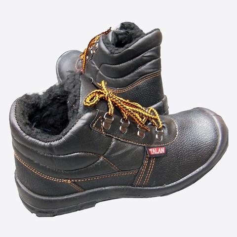 Кожаные ботинки мужские с мехом ФОРВАРД-ЭКОНОМ У