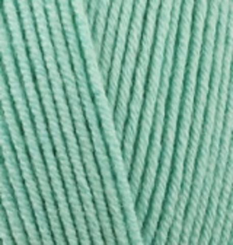 Пряжа Cotton gold (Alize) 15 Водяная зелень, фото