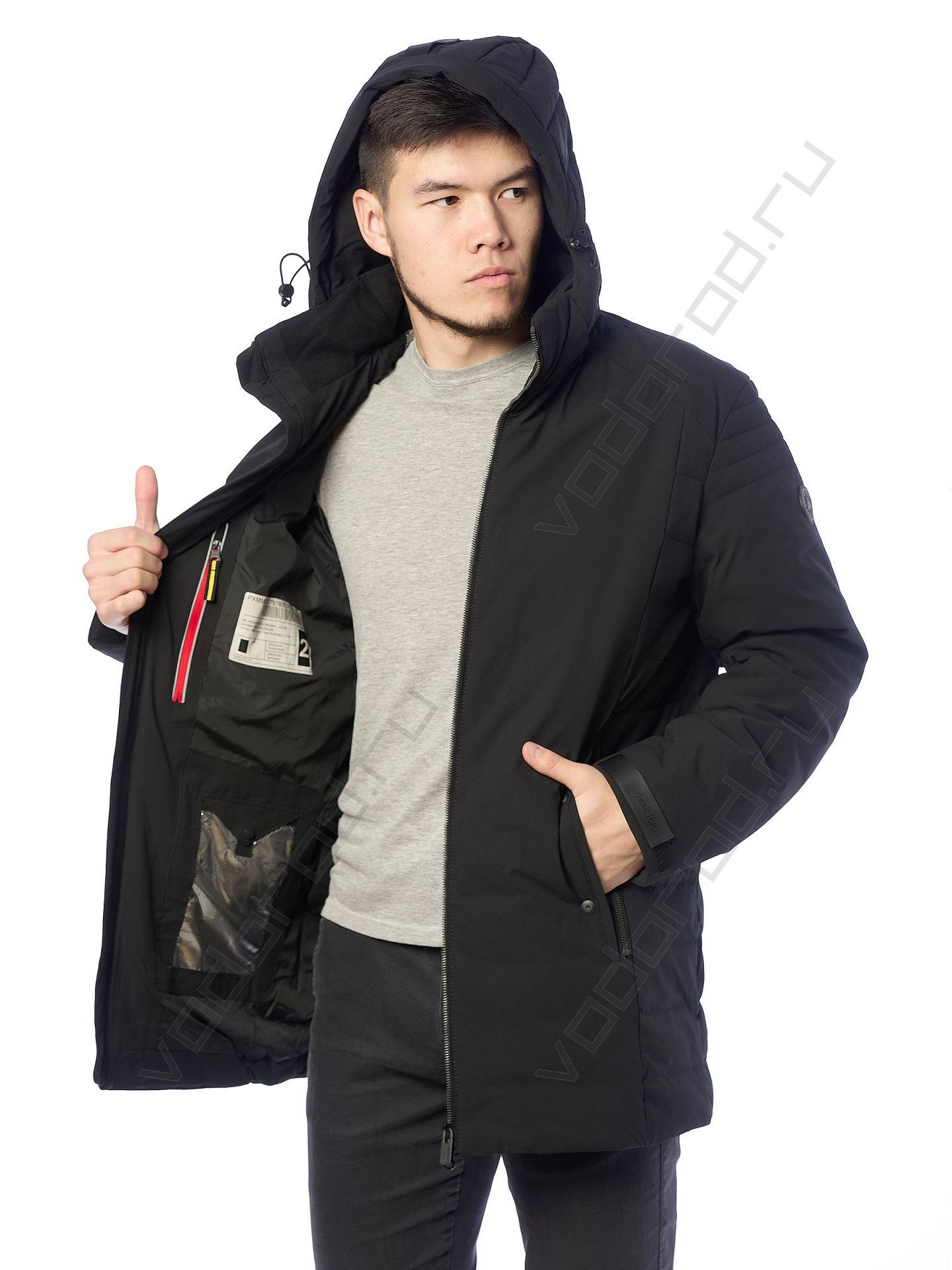 Куртка зимняя SHARK FORCE 21505 (черная)
