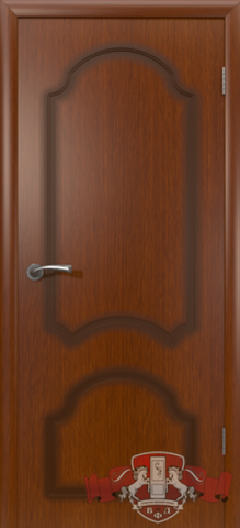 Дверь Владимирская фабрика дверей 5ДГ2, цвет макоре, глухая