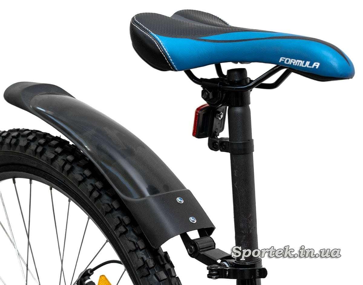 Сідло, підсідельний штир і крило гірського універсального велосипеда Formula Blaze DD 2016 (Формула Блейз)