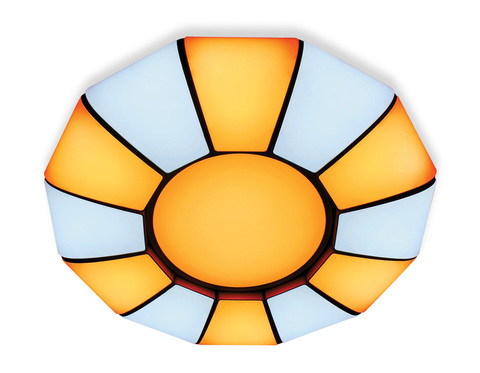 Потолочный светодиодный светильник с пультом FP2311 WH 114W 480*480*90 (ПДУ РАДИО 2.4)