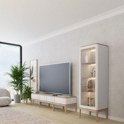 Белая мебель в гостиную Иконс